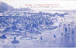 Ostende - Oostende - La Plage à L'heure Du Bain - Oostende