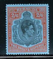 Bermuda      SC# 124   Mint   SCV$ 14.50 - Bermuda