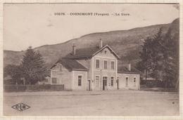 8AK1928 CORNIMONT LA GARE  2 SCANS - Cornimont