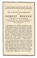 Doodsprentje Gesneuvelde Soldaat 14e Linieregiment Gent + Schellebelle 19 Mei 1940 - Images Religieuses