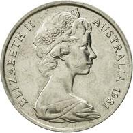Monnaie, Australie, Elizabeth II, 20 Cents, 1981, SUP, Copper-nickel, KM:66 - Monnaie Décimale (1966-...)