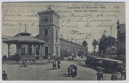 Exposition Universelle De Bruxelles 1910 Avenue Des COLONIES1910y. Tram Straßenbahn E602 - Bruxelles-ville