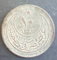 BX2 - Turkey Ottoman Empire Abdul Hamid II 10 Para Year 27 - Silver - 2g - KM #744 - Turquie