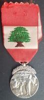 BX2 - Lebanon, Military Decoration, Lebanese Medal Of Merit - Uncirculated - Médailles & Décorations