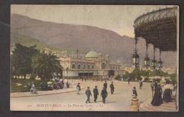 La Place Du Casino, Monte-Carlo, Monaco - Unused C1910s - Small Corner Crease - Monte-Carlo