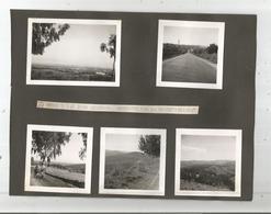 LIBAN 9 PHOTOS TIREES D'UN ALBUM 1939 (MILITAIRES FRANCAIS  ETAPE DE BEYROUTH A JAMHOUR AVEC CAMP INSTALLE A JAMHOUR) - Places