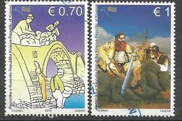 KOS 2012-231-2 LEGENDE, KOSOVO, 1 X 2v, Used - Kosovo