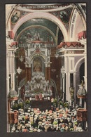 Interior Of Merced Church, Havana, Cuba - Unused C1910s - Cuba