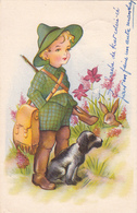 HUNTING - Boy Hunting 1951 - Printed In Belgium - Chasse