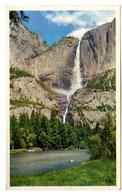 "{17105} U S A Californie Yosemite Falls.  "" En Baisse "" - Yosemite"