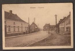 Old Street View, Anzegem, Belgium - Unused - Staining, Paper Adhesion - Anzegem