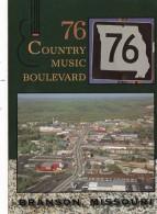 Missouri Branson Aerial View 76 Country Boulevard - Branson