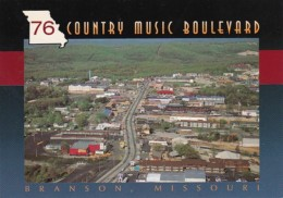 Missouri Branson Aerial View 76 Country Music Boulevard - Branson