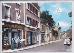 LIZY-SUR-OURCQ- BELLE DEVANTURE DU CAFE DE L HOTEL DE VILLE- CIM 771509 - Lizy Sur Ourcq