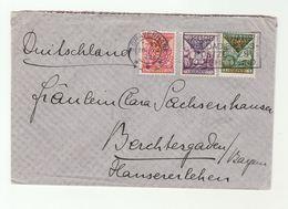 1926 GRAVENHAGE To BERCHTESGADEN Child WELFARE Stamps COVER ARMS GELDERLANAD S HOLLAND N BRABANT Netherlands Germany - Briefe U. Dokumente