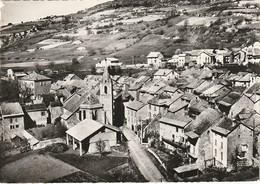 CPSM THORAME-HAUTE - Centre Du Village L'Eglise Et L'Hôtel - Autres Communes