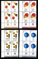 ISRAEL, 2002, Mint Never Hinged Stamp(s) In Blocks, Children's Games, M1702-1705,  Scan X848, With Tab(s) - Israel