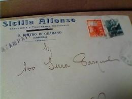 DITTA SICILIA ALFONSO S PIETRO IN GUARANO COSENZA VB1949 1 + 4 LIRE DEMOCRATICA GU2777 - 6. 1946-.. Repubblica