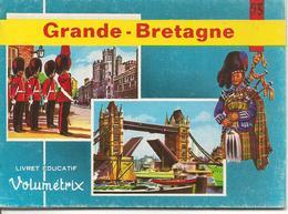 LIVRET EDUCATIF-VOLUMETRIX-1955-N°53 GRANDE BRETAGNE 48 Planches Relié-NEUF-Ft 15,5x 11,5 Cm TBE - Livres, BD, Revues