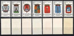 SPAGNA - 1962 - STEMMI DELLE PROVINCIE SPAGNOLE - MNH - 1931-Oggi: 2. Rep. - ... Juan Carlos I