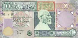 LIBYA 10 DINARS 2002 P-66 SIG/4 ZILITNI VF CRISP */* - Libya