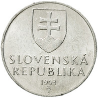 Monnaie, Slovaquie, 10 Halierov, 1993, TTB, Aluminium, KM:17 - Slovakia