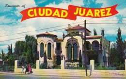 Mexico Juarez Ciudad Beautiful Home Along Avenida 16th de Septie