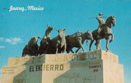 Mexico Juarez El Encierro Statue