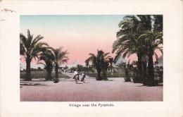 Egypt Cairo Village Near The Pyramids - El Cairo