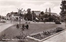 Germany Freising Motiv am Bahnhof mit Dom Photo