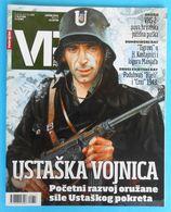 WW2 - CROATIA ARMY - JURE FRANCETIC - NDH USTASE PAVELIC * VP Magazine For Military History * Kroatien Croazia Croatie - Revistas & Periódicos