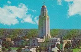 Nebraska Lincoln State Capitol Building - Lincoln