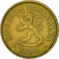 Monnaie, Finlande, 10 Pennia, 1964, TTB, Aluminum-Bronze, KM:46 - Finlande