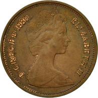 Monnaie, Grande-Bretagne, Elizabeth II, 2 New Pence, 1980, TB+, Bronze, KM:916 - 1971-… : Monnaies Décimales