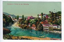 CPA 1917 Bosnie Herzegovine Sarajevo Partie An Der Miljacka Verlag Naklada Finzi - Bosnie-Herzegovine
