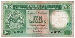 HONG KONG 10 DOLLARS 1991 P-191 - Hong Kong
