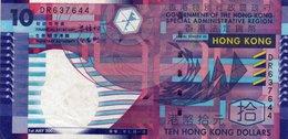 HONG KONG 10 DOLLARS 2002 P-400 - Hong Kong