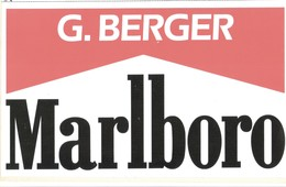 Adesivo Formula 1 - Squadra MARLBORO/FERRARI :G.Berger - Adesivi