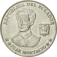 Monnaie, Équateur, 5 Centavos, Cinco, 2000, TTB, Steel, KM:105 - Equateur