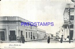 96672 PARAGUAY POLO NORTE VISTA DE LA CALLE STREET RAILROAD POSTAL POSTCARD - Paraguay