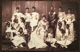 Royal Wedding, 1893.  The Nostalgia Postcard Collectors Club, Yesterdays Britain 1890s-1950s - Familles Royales