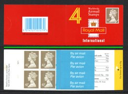 GREAT BRITAIN 1993 Definitives 4x41p: Cylinder Booklet UM/MNH - Libretti