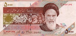 IRAN 5000 RIALS 2005 P-145 XF - Iran