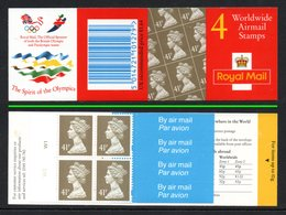 GREAT BRITAIN 1996 Olympic Games/Definitives 4x41p: Cylinder Booklet UM/MNH - Libretti