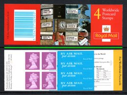 GREAT BRITAIN 1997 Definitives 4x37p: Stamp Booklet UM/MNH - Libretti