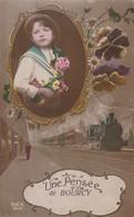 Une Pensée De Bourcy Circulé En 1919 - Bastenaken