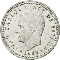 Monnaie, Espagne, Juan Carlos I, Peseta, 1989, TTB+, Aluminium, KM:821 - [ 5] 1949-… : Royaume