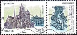 Oblitération Moderne Sur Timbre De France N° 4748 ** 86ème Congrès De La FFAP - Amiens, La Cathédrale - Sculpture - France