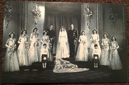 Royal Wedding, 1947.  The Nostalgia Postcard Collectors Club. Yesterday's Britain 1890s - 1950s - Familles Royales
