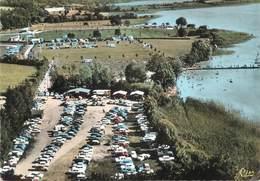 """/ CPSM FRANCE 39 """"Clairvaux Les Lacs, La Plage Et Les Terrains De Camping"""" - Clairvaux Les Lacs"""